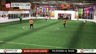 Fire Evolution vs. Torna2 Mundi Soccer League Chitown Futbol