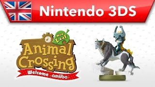 Animal Crossing: New Leaf - Welcome amiibo - Wolf Link (Nintendo 3DS)