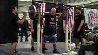 Tito Bastianelli Sr - Power Lifting - USAPL Men's Raw Master's IV Squat - New American Record