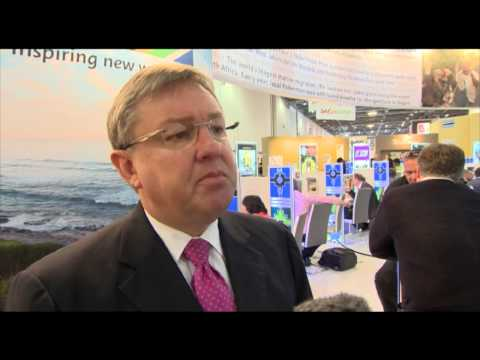 Marthinus Van Schalkwyk, national tourism minister, South Africa