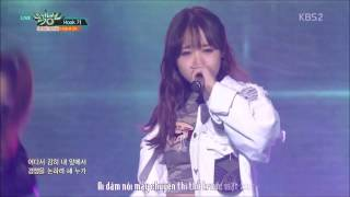 [Vietsub] {FancyJung} I.O.I Yoojung (아이오아이) ft. HookGA(Hook가) - HIGH4 20 @ Music Bank