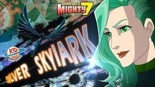 Star Marshals | Stan Lee's Mighty 7 I Season 1 Episode 3 Kid Genius Cartoons