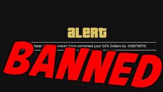 I GOT BANNED!! ON STREAM LIVE REACTION [GTA 5 $130M RESET]