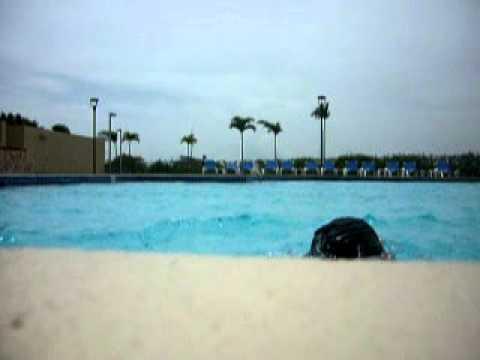 Swimming in Nicaragua