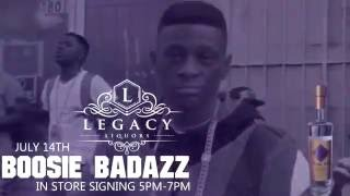 BOOSIE bottle signing in Orlando Florida