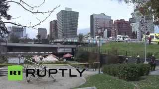 Chile: Bomb explodes in Santiago metro, injuring 7