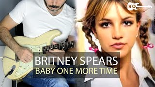 Britney Spears - Hit Me Baby One More Time - Electric Guitar Cover by Kfir Ochaion