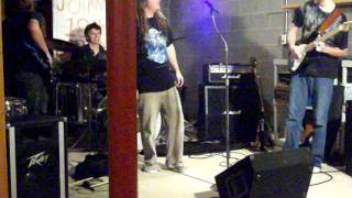 "Johnny Petrow's 18th B-Day Party Cheyne Stokes ""The Wanton Song"" Deep Purple Cover"