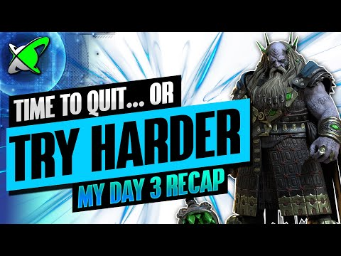 TIME TO QUIT...OR TRY HARDER  | Underpriest Brogni Day 3 Recap | BGE's Guides | RAID: Shadow Legends