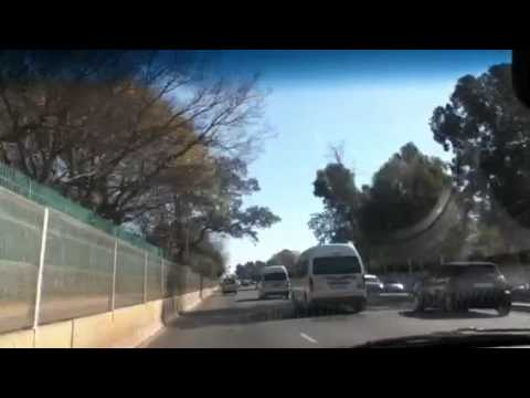 D.Kim in South Africa: Driving back From Bunting Road Campus