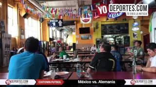 Chitown llora la derrota de Mexico en Rusia