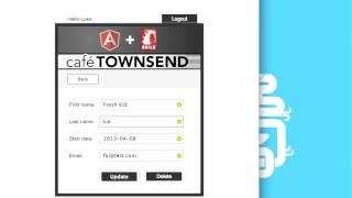 Basic CRUD application built with AngularJS and Rails