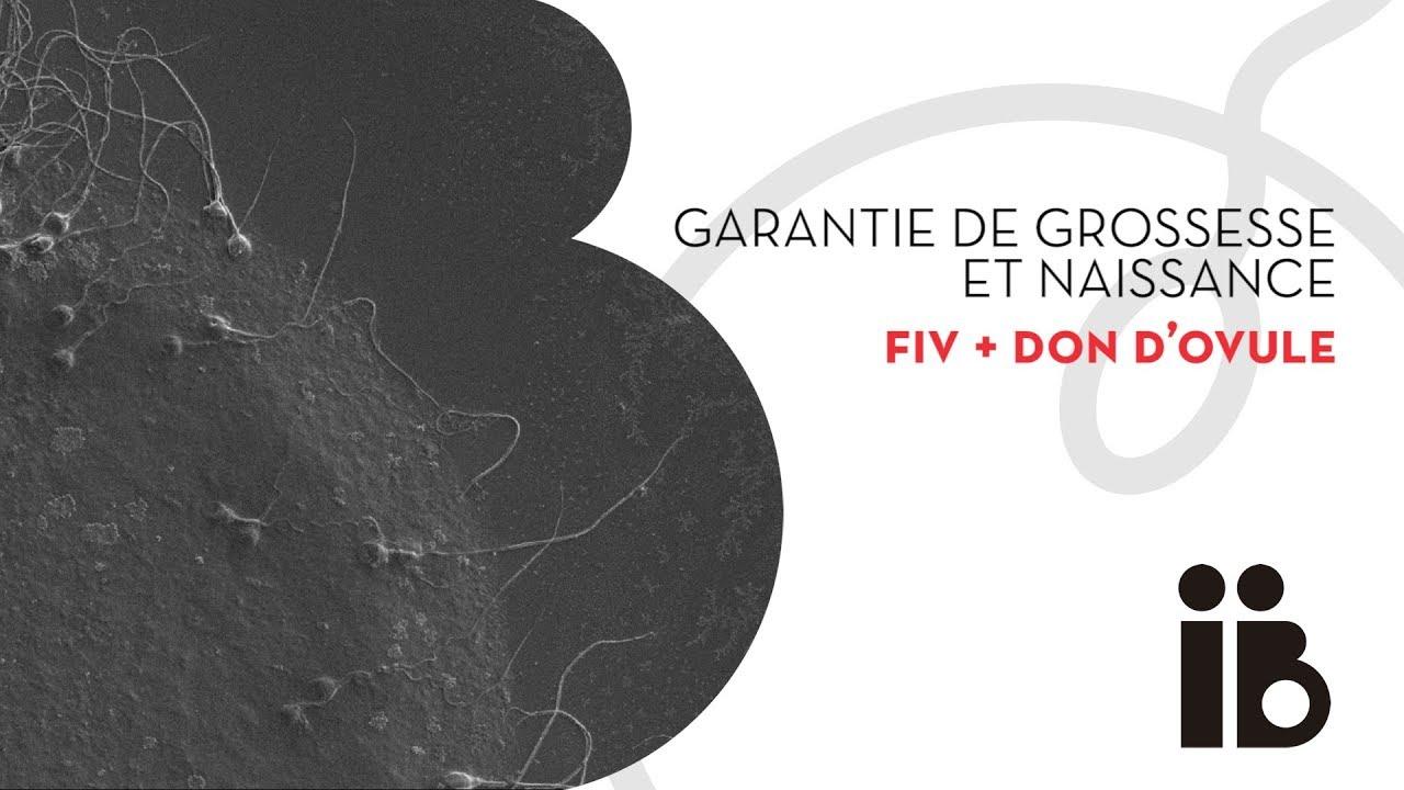 Garantie de grossesse et naissance. FIV + don d'ovule