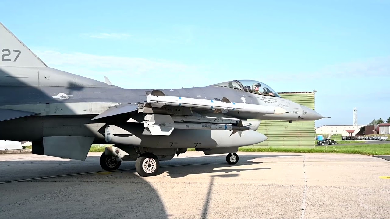 What does it take to maintain an F-16 Fighting Falcon?