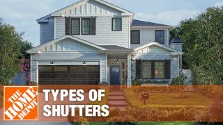 A video on types of shutters.