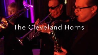 Cleveland Horns performing a cover ( 25 or 6 to 4) by Chicago