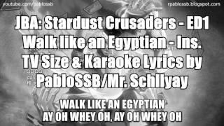 JoJo's Bizarre Adventure: Stardust Crusaders  - Ending 1 - Instrumental & Lyrics ver.