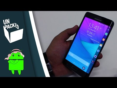 تعرف أكثر على النوت إيدج | Samsung GALAXY Note Edge Hands-on