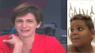Jornalista não segurou a risada ao vivo no jornal - Gordinho rindo