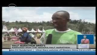 Justus Kangogo wins Madoka Half Marathon