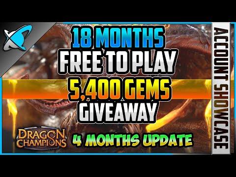*18 MONTHS (FTP) PROGRESS* | 2,700 Gems Giveaway | (DC) 4 Months Update !! | RAID: Shadow Legends