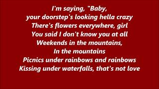 Luke Christopher - Waterfalls (Lyrics)