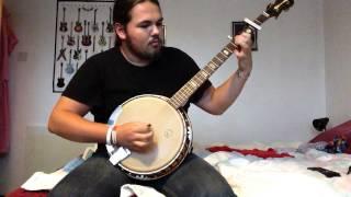 Dropkick murphys I'm shipping up to Boston banjo cover  (Kay kb54)