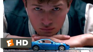 Baby Driver (2017) - A Score for a Score Scene (4/10) | Movieclips