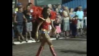 Desfiles das escolas de samba mirins de Mariana
