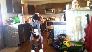 How you made a cowboy sound!!