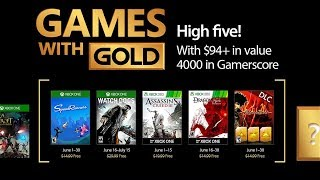 GAMES WITH GOLD JUNHO 2017 (Lista Completa)