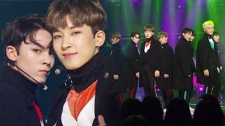 《POWERFUL》 SEVENTEEN (세븐틴) - BOOMBOOM (붐붐) @인기가요 Inkigayo 20170101