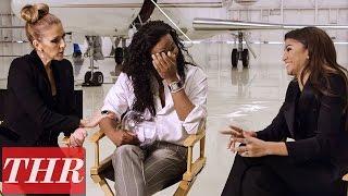 Celine Dion & Zendaya: Breakfast & Audrey Hepburn with Stylist Law Roach   THR Fishing For Answers