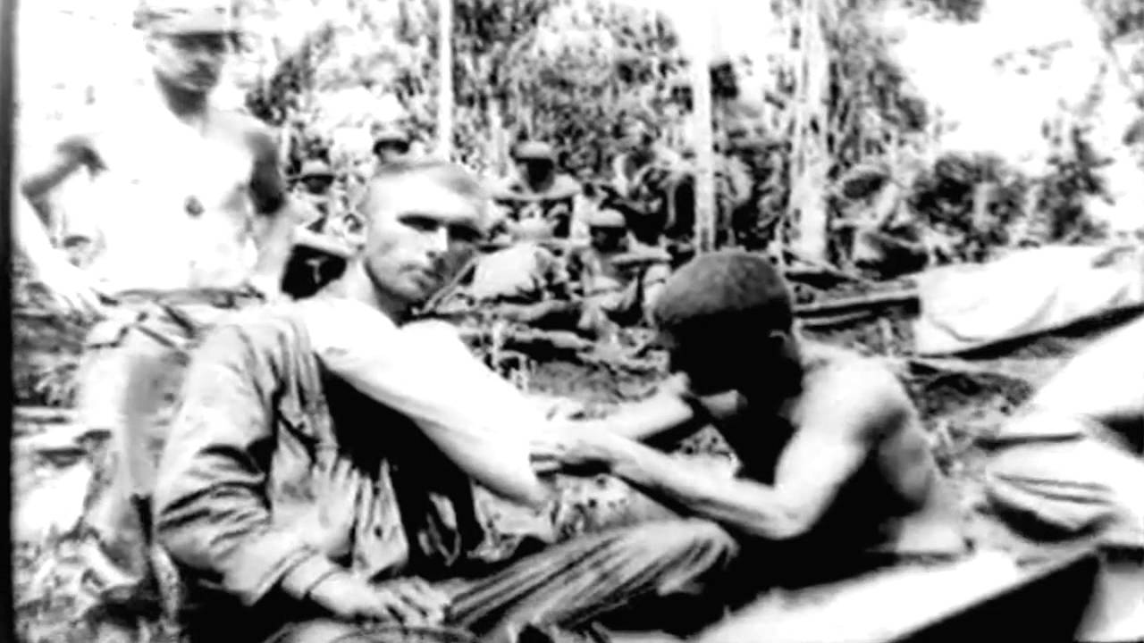 Medical Service In The Jungle 1944 WWII U.S. Army