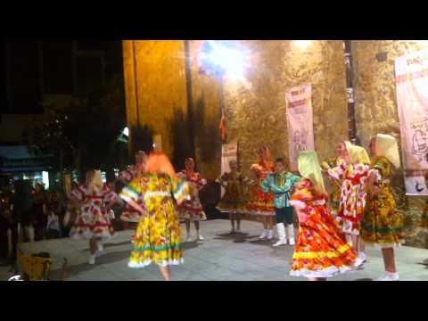 "Ukraine ensemble ""Malvochka"" at Festival Internacional de Folclore ""Alegria"" 25 June-02 July 2011"