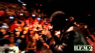 Lloyd Banks feat. Jeremih - I Don't Deserve You - The Video Before The Video - Live in NYC HD