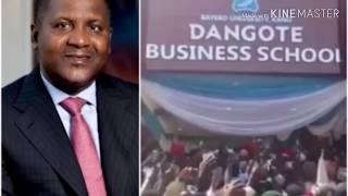 Le milliardaire Aliko Dangote ouvre sa première business schoolau Nigeria
