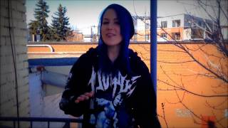 Alissa White-Gluz: Get ready for WAR ETERNAL