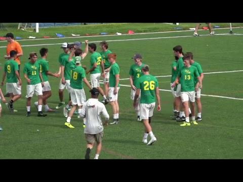 Video Thumbnail: 2018 College Championships, Men's Pool Play: Georgia vs. Oregon