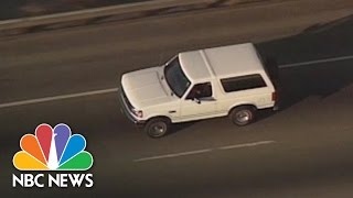 White Ford Bronco: The Chase That Changed Everything | Flashback | NBC News