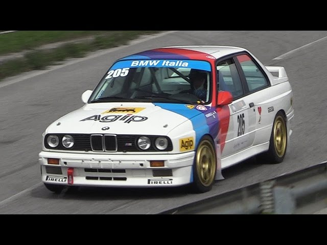 BMW M3 E30 Gr. A Sound in Action on Hillclimb!!