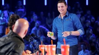 BEST Magic Show in the world - Genius Rubik's Cube Magician America's Got Talent width=