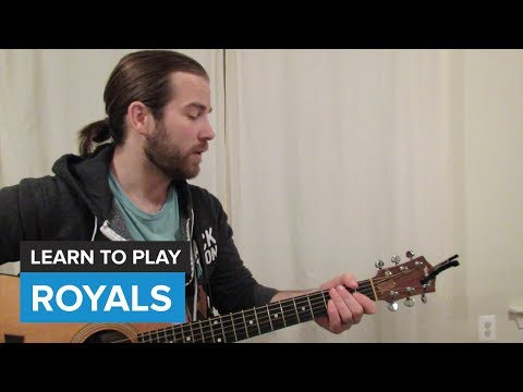How To Play Royals By Lorde Guitar Chords Lesson Chords Chordify