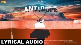 Antidope (Lyrical Audio) Native Singh | Punjabi Lyrical Audio 2017 | White Hill Music