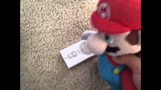 If I press this button all of you will disappear Mario Vine