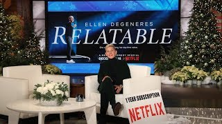 An Exclusive Sneak Peek of Ellen's Netflix Special 'Relatable'