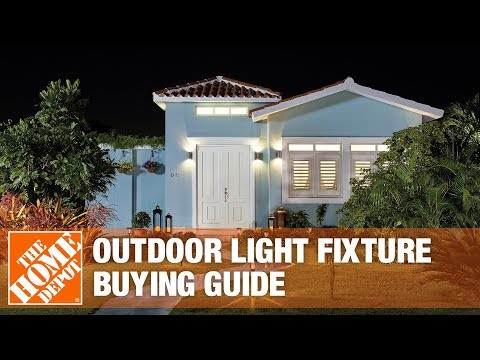 A video highlights features of outdoor lighting.