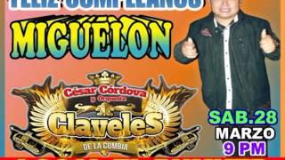 FELIZ CUMPLEAÑOS MIGUELON 28-O3-2015 EN EL BUNKER