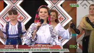 "Georgiana Lobont , emisiune ""Seara buna, dragi romani"" 2015.03.27"