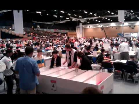 WRO 2011 Regular Elementary Round 1. Ukraine. RE21 Double Strike.